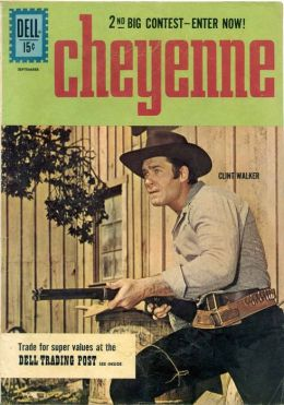 Cheyenne Number 23 Western Comic Book