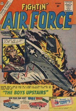 Fightin Air Force Number 23 War Comic Book