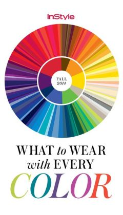 InStyle's Fall Color Guide 2014