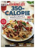 Book Cover Image. Title: Cooking Light:  350 Calorie Main Dishes, Author: Time Inc.