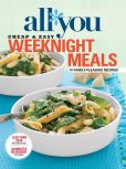 Book Cover Image. Title: All You:  Weeknight Meals, Author: Time Inc