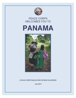 Panama in Depth: A Peace Corps Publication