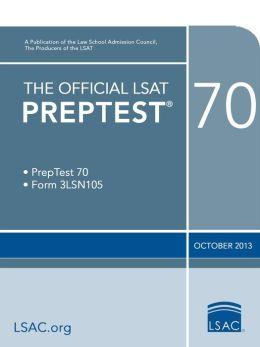The Official LSAT PrepTest 70