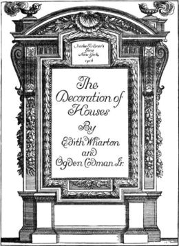 The Decoration of Houses By Edith Wharton and Ogden Codman Jr.