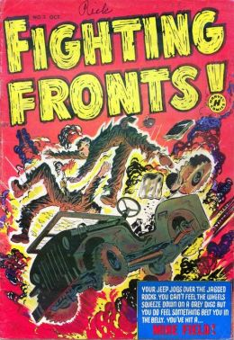 Fighting Fronts Number 3 War Comic Book
