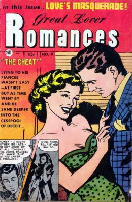 Great Lover Romances Number 9 Love Comic Book