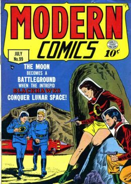 Modern Comics Number 99 War Comic Book