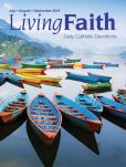 Book Cover Image. Title: Living Faith - Daily Catholic Devotions, Volume 30 Number 2 - 2014 July, August, September, Author: Mark Neilsen