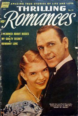 Thrilling Romances Number 25 Love Comic Book