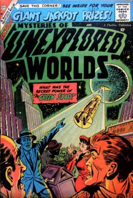 Mysteries of Unexplored Worlds Number 13 Fantasy Comic Book