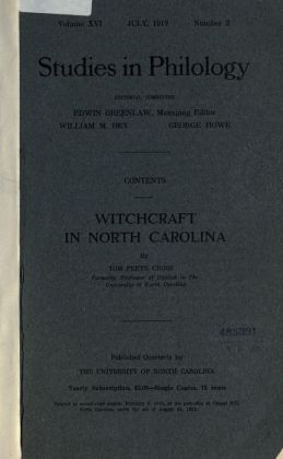 Witchcraft in North Carolina