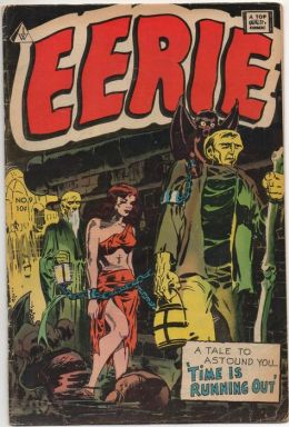 Eerie Number 9 Horror Comic Book