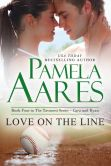 Book Cover Image. Title: Love on the Line, Author: Pamela Aares