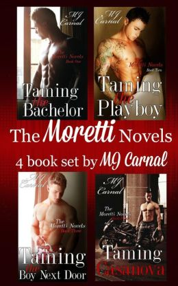 The Moretti Novels Box Set, Novels 1 to 4