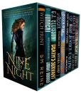 Book Cover Image. Title: Nine by Night:  A Multi-Author Urban Fantasy Bundle of Kickass Heroines, Adventure, & Magic, Author: SM Reine