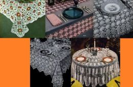 More Heirloom Tablecloth Patterns for Crochet