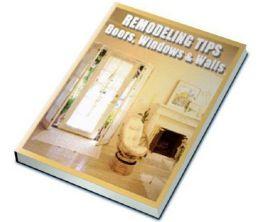 Remodeling Tips: Doors, Windows and Walls