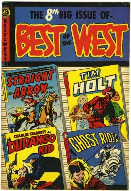 Best of the West Number 8 Western Comic Book