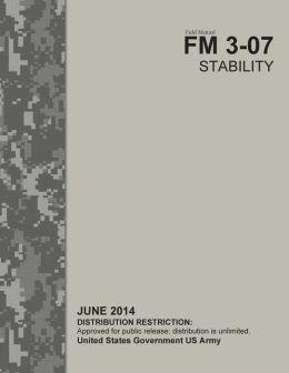 Field Manual FM 3-07 Stability June 2014
