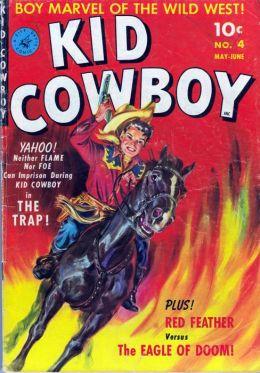 Kid Cowboy Number 4 Western Comic Book