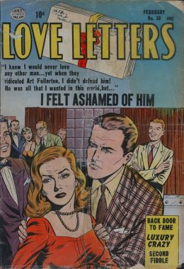 Love Letters Number 38 Love Comic Book