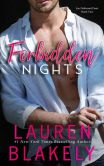 Book Cover Image. Title: Forbidden Nights, Author: Lauren Blakely