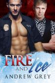 Book Cover Image. Title: Fire and Ice, Author: Andrew Grey