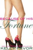 Book Cover Image. Title: Because of His Fortune (For His Pleasure, Book 25), Author: Kelly Favor