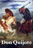Book Cover Image. Title: Don Quijote de la Mancha - Cervantes, Author: Miguel de Cervantes Saavedra