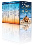 Book Cover Image. Title: Love Down Under:  Eight New Zealand & Australian Feel-Good Beach Romances, Author: Rosalind James