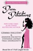 Book Cover Image. Title: Diva Detectives (Boxed set of 3 full length mysteries), Author: Gemma Halliday