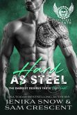 Book Cover Image. Title: Hard As Steel (The Soldiers of Wrath MC, #3), Author: Jenika Snow