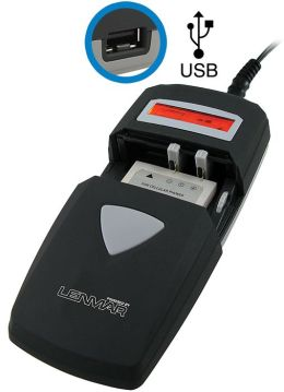 Lenmar BCUNI3 Universal Charger with USB