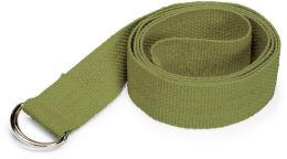 Organic Cotton Yoga Strap 6'  (Sage)