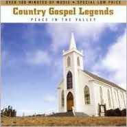 Country Gospel Legends: Peace in the Valley [Slimeline Case]