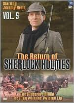 Return Of Sherlock Holmes 5: Musgrave & Man / Tv