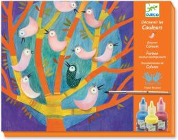 Hide & Seek Colors Paint and Brush Kit