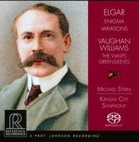 Elgar: Enigma Variations; Vaughan Williams: The Wasps; Greensleeves