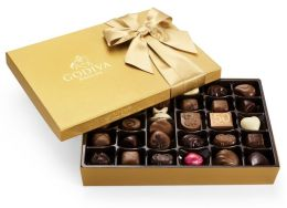 Godiva 36 Piece Gold Ballotin Assortment