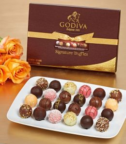 Godiva 24 Piece Signature Truffle Assortment
