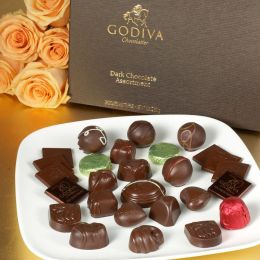 Godiva 27 Piece Dark Chocolate Assortment