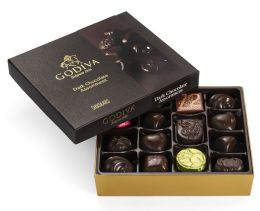Godiva 16 Piece Dark Chocolate Assortment