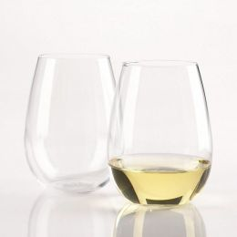 U Chardonnay Stemless Wine Glasses - Set of 2