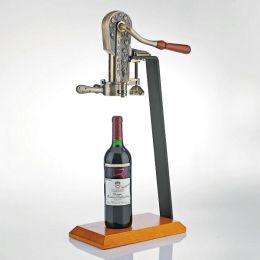 Legacy Corkscrew with Birch Stand in Antique Bronze
