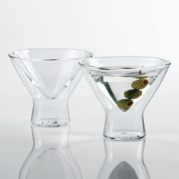 Steady-Temp Double Wall Martini Stemless Glasses - Set of 2