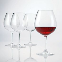 Break-Free PolyCarb Pinot Noir Wine Glasses - Set of 4