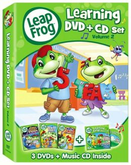 LeapFrog Learning DVD+CD Set, Vol. 2