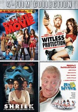 Disaster Movie/Witness Protection/Shriek If You Know What I Did Last Friday the 13th/My 5 Wives