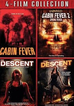 Cabin Fever/Cabin Fever 2/the Descent/the Descent 2