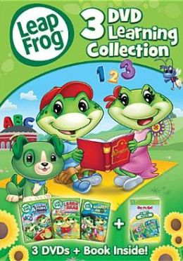 Leapfrong: 3 Dvd Learning Collection